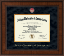 Indiana University of Pennsylvania Diploma Frame - Presidential Masterpiece Diploma Frame in Madison