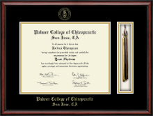 Palmer College of Chiropractic San Jose Diploma Frame - Tassel Edition Diploma Frame in Southport