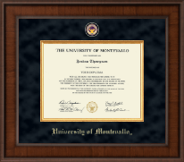 University of Montevallo Diploma Frame - Presidential Masterpiece Diploma Frame in Madison