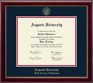 Augusta University Diploma Frame - Gold Embossed Diploma Frame in Gallery