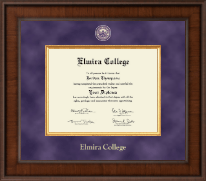 Elmira College Diploma Frame - Presidential Masterpiece Diploma Frame in Madison