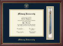 Midway University Diploma Frame - Tassel Edition Diploma Frame in Newport