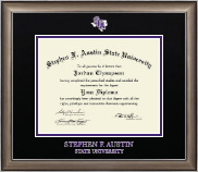 Stephen F. Austin State University Diploma Frame - Dimensions Diploma Frame in Easton