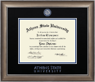 Athens State University Diploma Frame - Dimensions Diploma Frame in Easton