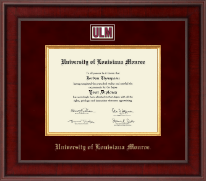 University of Louisiana Monroe Diploma Frame - Presidential Masterpiece Diploma Frame in Jefferson