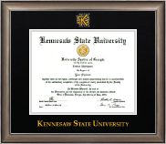 Kennesaw State University Diploma Frame - Dimensions Diploma Frame in Easton