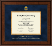 Kent State University Diploma Frame - Presidential Masterpiece Diploma Frame in Madison