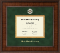 Walla Walla University Diploma Frame - Presidential Masterpiece Diploma Frame in Madison