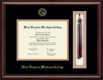 West Virginia Wesleyan College Diploma Frame - Tassel Edition Diploma Frame in Southport