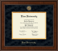 Elon University Diploma Frame - Presidential Masterpiece Diploma Frame in Madison