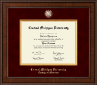 Central Michigan University Diploma Frame - Presidential Masterpiece Diploma Frame in Madison