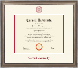 Cornell University Diploma Frame - Dimensions Diploma Frame in Easton