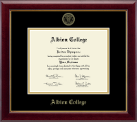 Pre-Spring 2017- Gold Embossed Diploma Frame