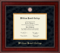 William Jewell College Diploma Frame - Presidential Masterpiece Diploma Frame in Jefferson