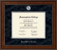 Assumption College Diploma Frame - Presidential Masterpiece Diploma Frame in Madison