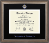 University of Pittsburgh at Bradford Diploma Frame - Dimensions Diploma Frame in Easton