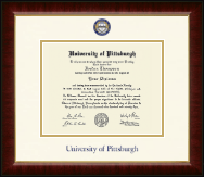 University of Pittsburgh at Bradford Diploma Frame - Dimensions Diploma Frame in Murano