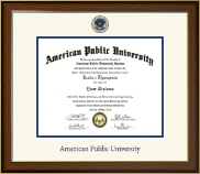 American Public University Diploma Frame - Dimensions Diploma Frame in Westwood