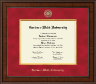 Gardner-Webb University Diploma Frame - Presidential Masterpiece Diploma Frame in Madison