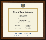 Howard Payne University Diploma Frame - Dimensions Diploma Frame in Westwood