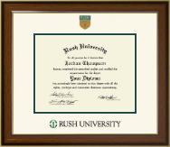 Rush University Diploma Frame - Dimensions Diploma Frame in Westwood