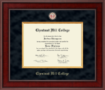Chestnut Hill College Diploma Frame - Presidential Masterpiece Diploma Frame in Jefferson