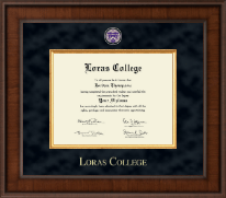 Loras College Diploma Frame - Presidential Masterpiece Diploma Frame in Madison