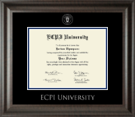 East Coast Polytechnic Institute University Diploma Frame - Silver Embossed Diploma Frame in Acadia