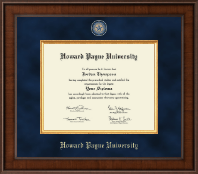 Howard Payne University Diploma Frame - Presidential Masterpiece Diploma Frame in Madison