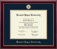 Howard Payne University Diploma Frame - Gold Embossed Diploma Frame in Gallery