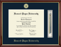 Howard Payne University Diploma Frame - Tassel Edition Diploma Frame in Southport Gold
