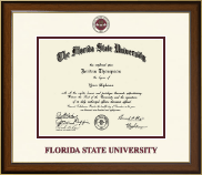 Florida State University Diploma Frame - Dimensions Diploma Frame in Westwood