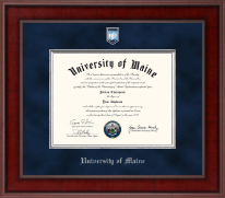 The University of Maine Orono Diploma Frame - Presidential Masterpiece Diploma Frame in Jefferson