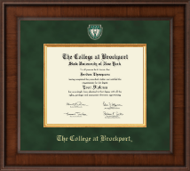 The College at Brockport Diploma Frame - Presidential Masterpiece Diploma Frame in Madison