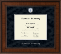 Chaminade University Diploma Frame - Presidential Masterpiece Diploma Frame in Madison
