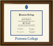 Pomona College Diploma Frame - Dimensions Diploma Frame in Westwood