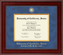 University of California Irvine Diploma Frame - Presidential Masterpiece Diploma Frame in Jefferson