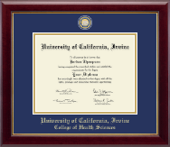 University of California Irvine Diploma Frame - Masterpiece Medallion Diploma Frame in Gallery