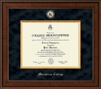 Moravian College Diploma Frame - Presidential Masterpiece Diploma Frame in Madison