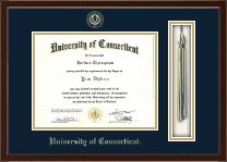 University of Connecticut Diploma Frame - Tassel Edition Diploma Frame in Delta