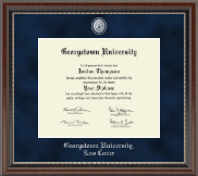 Georgetown University Diploma Frame - Regal Edition Diploma Frame in Chateau