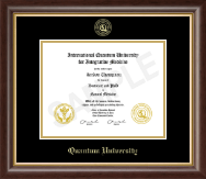 Quantum University Diploma Frame - Gold Embossed Diploma Frame in Hampshire