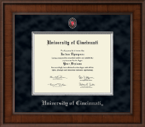University of Cincinnati Diploma Frame - Presidential Masterpiece Diploma Frame in Madison