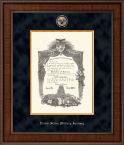 united states military academy diploma frame presidential masterpiece diploma frame in madison