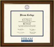 Hiram College Diploma Frame - Dimensions Diploma Frame in Westwood