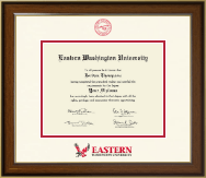 Eastern Washington University Diploma Frame - Dimensions Diploma Frame in Westwood