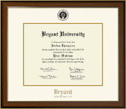 Bryant University Diploma Frame - Dimensions Diploma Frame in Westwood