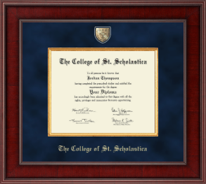 The College of St. Scholastica Diploma Frame - Presidential Masterpiece Diploma Frame in Jefferson