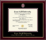 Texas A&M University Diploma Frame - Masterpiece Medallion Diploma Frame in Gallery