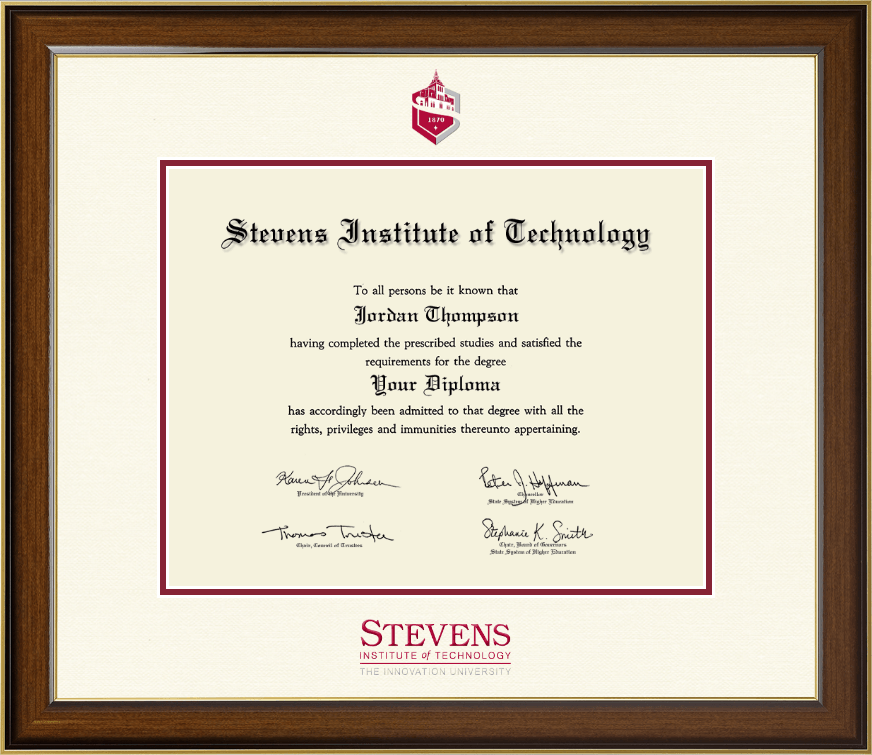 institute of technology dimensions diploma frame in westwood item 286413 from cus